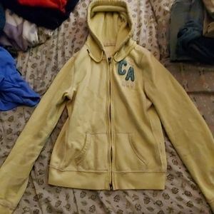 (3 for $10) Lime green hollister hoodies